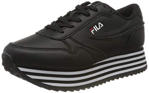 FILA Damen 1010667-11W_40 Sneaker, Black, EU
