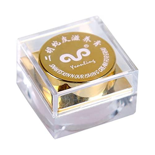 MILISTEN 1 Unidad Práctica Piel de Serpiente Instrumento Musical Cuidado Crema Nutritiva Cuidado Crema ( Dorado )