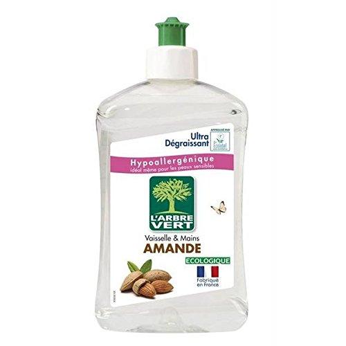 L'Arbre Vert - Líquido lavavajillas de almendra (500 ml)