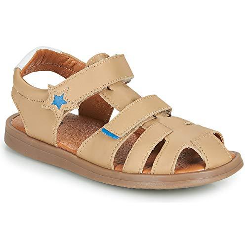 GBB Marino Sandali Ragazzo Beige - 30 - Sandali Shoes