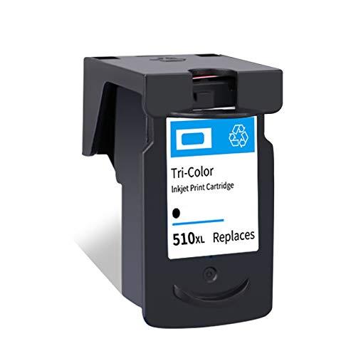 Cartucho de tinta remanufacturado PG510XL CL511XL, Reemplazo Negro y color para Canon PG510 CL511 Para usar con Canon MP250 MP280 480 MP230 240 252 260 270 Impresora black