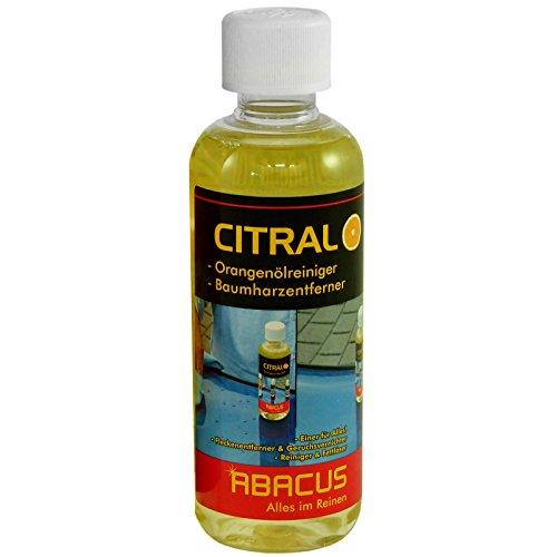 CITRAL 300 ml (4036) --- Orangenölreiniger Baumharzentferner Entfetter Kleberresteentferner Orangenöl Reiniger Konzentrat Entharzer Baumharz Fett Fettlöser Kugelschreiber Tintenflecken Maschinenöl