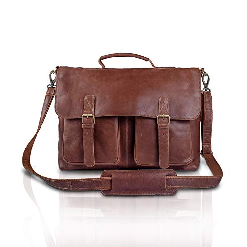 men's leather messenger bags