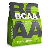Cápsulas de BCAA, aminoácidos para el desarrollo muscular y la regeneración tras el entrenamiento. 120 cápsulas veganas TOOSHAPED