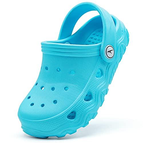 Zuecos infantiles, zapatos de jardín para niñas, zapatillas de estar por casa, color, talla 24/25 EU