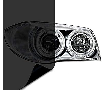 VViViD Dark Black Headlight Taillight Tint Air-Release Vinyl Wrap Film Roll