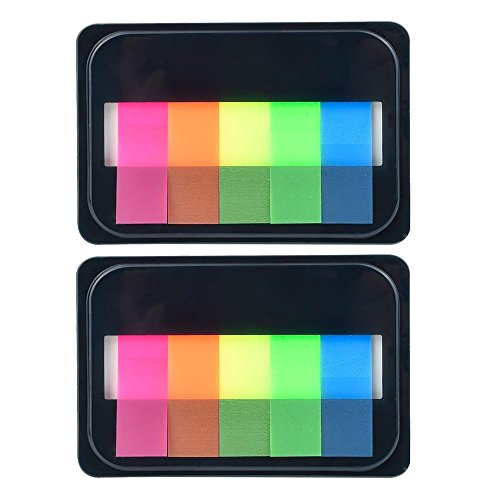 eBoot Neon Index Tabs Flags Sticky Note for Page Marker (2)