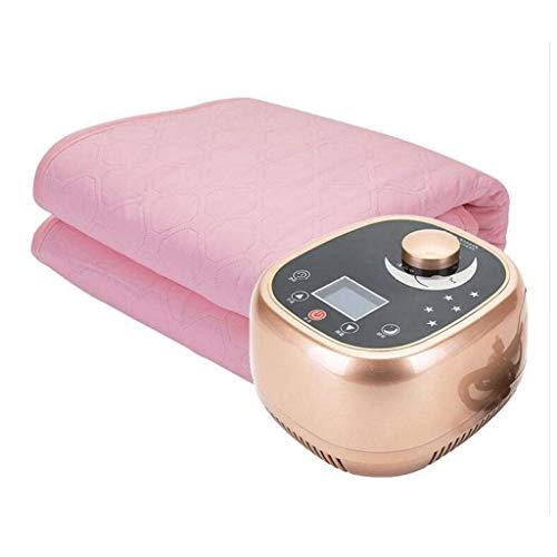Cajolg Zvvvst Elektrische deken, 1 en 2 personen, watercirculatie, veilig en niet stralend, elektrische deken