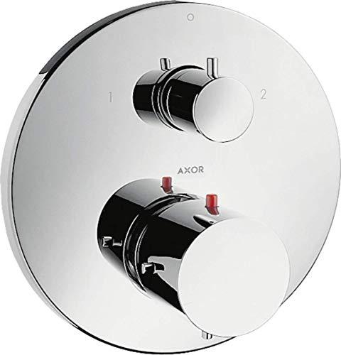 Hansgrohe 10720000 Fertigmontageset Axor Starck Unterputz Thermostat mit Ab- und Umstellventil, chrom