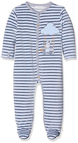 Noukies Noukie's Baby-Jungen Pyjama 1PCS SMART Schlafstrampler, Blau (BLEU BLEU), (56 cm) 1 Monate