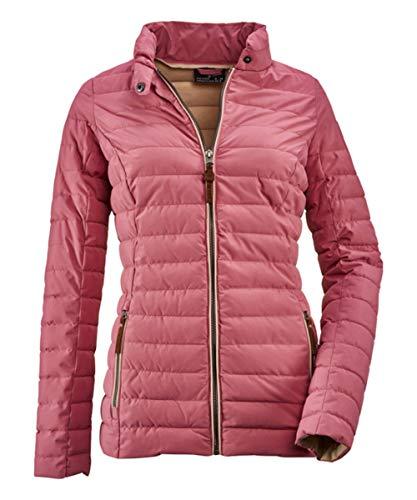 Killtec Dagmara Damen Jacke Steppjacke Übergangsjacke Gesteppt Kleiner Stehkragen (50, Modern Red)