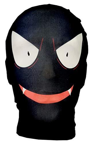 Gastly Maske - Pokemon GO - Cosplay - Comic Con - Halloween Kostüm Fasching