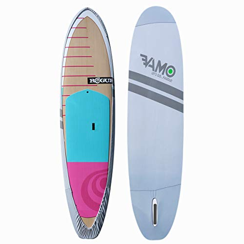 VAMO Stand Up Paddleboard 4-Way Stretch, UV Board Cover for Paddleboards, Kayaks and Surf Boards (10'6-12')