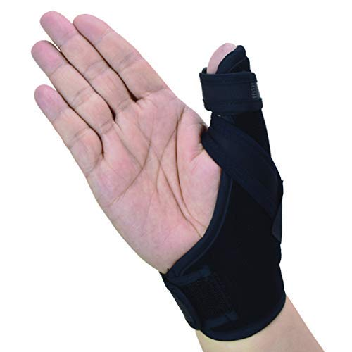 Thumb Spica Splint- Thumb Brace per artrite o lesioni ai tessuti molli, leggero e traspirante, stabilizzante e non restrittivo, prodotto solido statunitense (grande/XL)