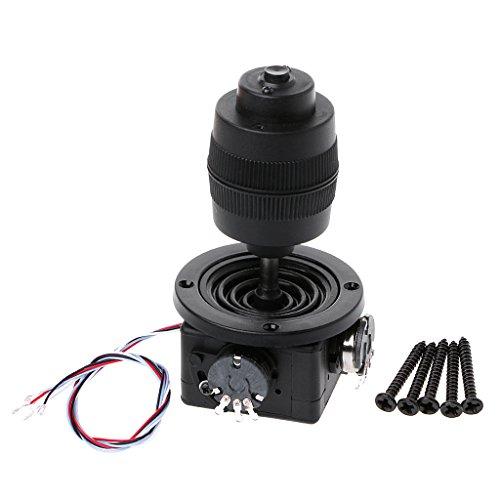Qiyue 4-Achsen-Potentiometer aus Kunststoff mit Joystick für JH-D400X-R4 10K 4D mit Knopfdraht von Liuxia