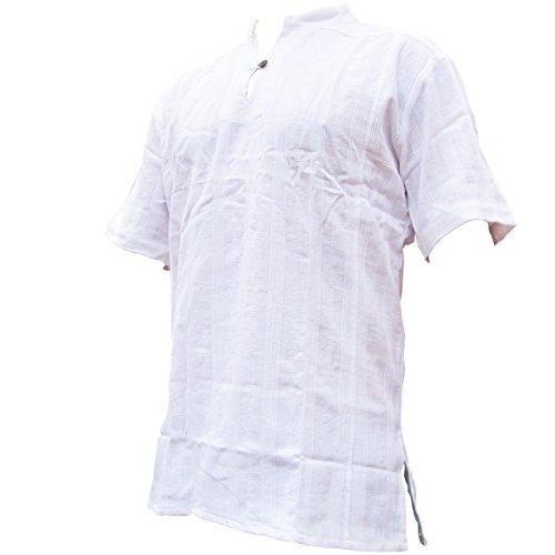 PANASIAM Shirt Ben, White, XL, Shortsleeve
