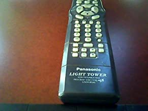 Panasonic Light Tower Vcr/tv/cable/dss/program Director Mb Universal Remote Control Replacement# Pan