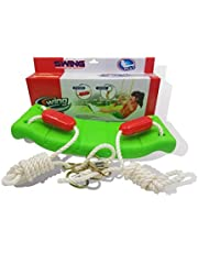 Swing rope is comfortable and safe for children