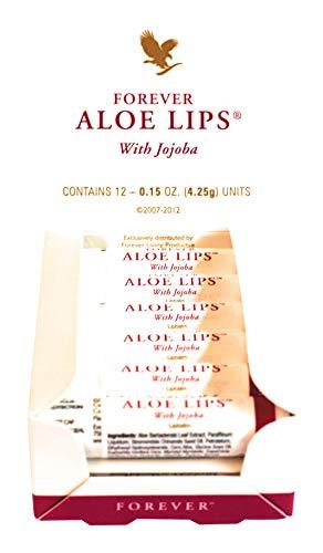 Forever Original, Feuchtigkeitsspendende Lippen Glanz mit Aloe-basierter Formel 12 Stück
