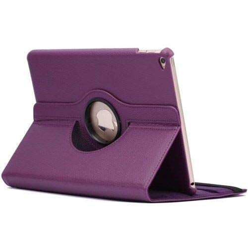 Case for iPad 9.7-360 Degree Rotation Stand Cover - Purple
