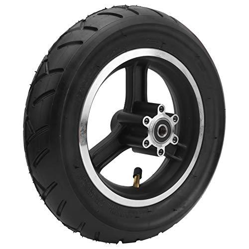 Meiyya Neumático de Rueda de 10x2,5 Pulgadas, neumático de Goma, neumático de inflado para Scooter eléctrico con Tipo de Cubo de Rueda
