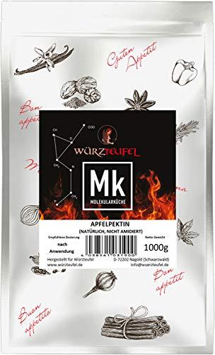 Pektin, natürliches Apfel - Pektin Marmeladen - Pectin, Pflanzliches Geliermittel E440 (nicht amidiert nicht gebleicht). Beutel 1000g (1 KG)