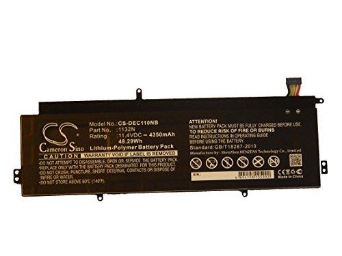 vhbw Li-Polymer Batterie 4350mAh (11.4V) pour ordinateur portable, notebook Dell Chromebook 11 comme 01132N, CB1C13.