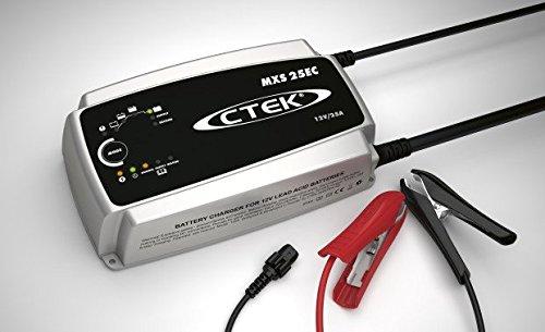 CTEK (40-128) MXS 25EC 12 Volt Battery Charger with Wall Hanger 300