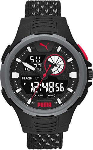 Puma P5073 Bold ANALOG-DIGITAL Uhr Herrenuhr 5 bar Digital Datum Licht Alarm
