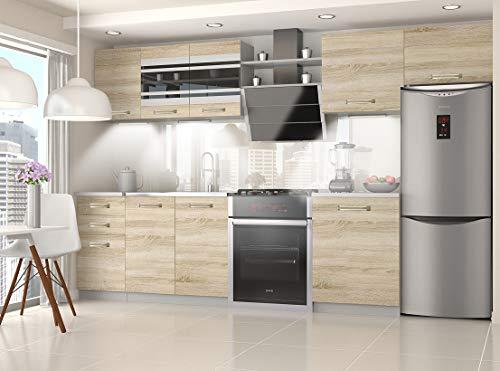 Tarraco Comercial Muebles Cocina Completa Ella Sonoma 300 cm