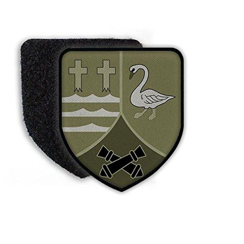 Copytec Klett Patch mit Flausch Pz-Art-Btl 325 Tarn Camo Panzer-Artillerie-Bataillon Schwanewede Bundeswehr Wappen Abzeichen #22365