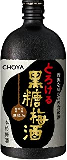 本格梅酒 CHOYA チョーヤ 黒糖梅酒 [ 720ml ]