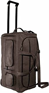 David King & Co. 22 Inch Rolling Duffel, Cafe, One Size