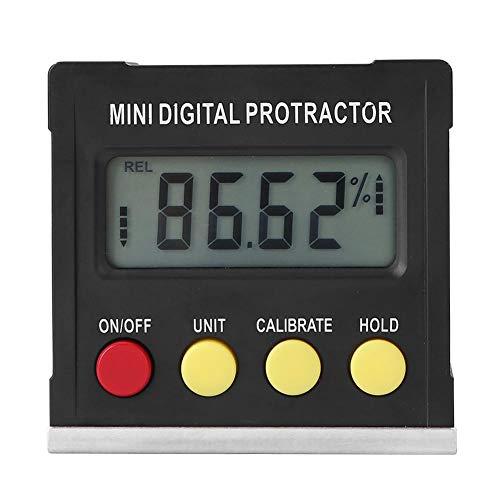 Rainai Horizontaler Winkelmesser Digitaler Winkelmesser Neigungsmesser Elektronische Nivellierbox Magnetfuß Messwerkzeuge