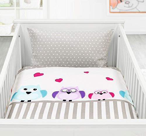 Holiday La Cama bebé niños algodón con cremallera 100x 13540x 60, 100% algodón, Diseño 1, 100 x 135 cm