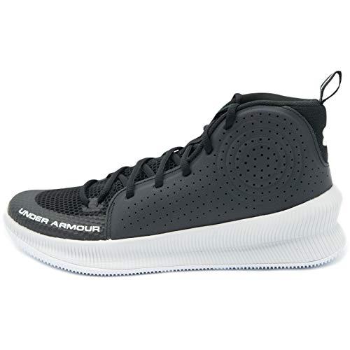 Under Armour UA Jet, Zapatos De Deporte, Calzado para Hombre, Negro (Black/Halo Gray/Halo Gray), 40.5 EU