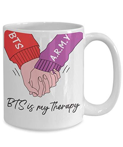 Kpop BTS Merch BTS Is My Therapy Best BTS Merchandise Kim Namjoon Kim Taehyung Min Yoongi Park Jimin Jung Hoseok Jungkook Seokjin