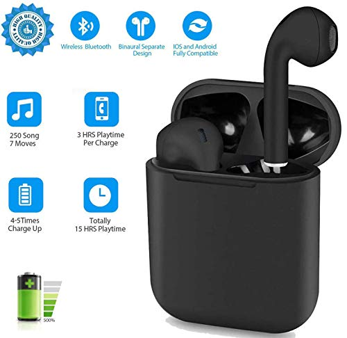 i12 - TWS Auriculares Bluetooth 5.0, Toque Inteligente