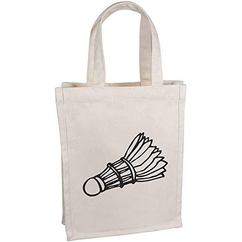 Azeeda \'Federball\' Kleine Premium Canvas Einkaufstasche (BG00037977)