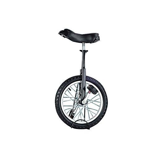 SENQI自転車 一輪車 子供用 スタンド付属 16インチ ブラック