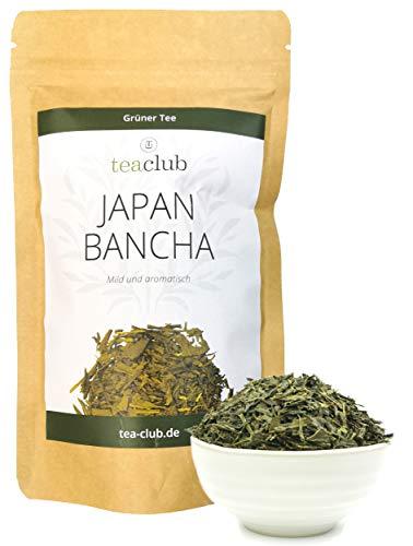 Japan Bancha Grüner Tee Lose 100g, Japanischer Grüntee Aromatisch-Mild, TeaClub