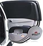 XL/Car Windows Sun Shades for SUVs Windows up to 21-22in x 46-50in. Mesh Shade Socks for Baby. Car Window Screens for Camping. Covers Fully (2-Pack)