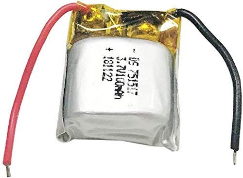Batería Recargable de Iones de Litio de 3,7 v 100 mah para Cx-10 Cx10 Cx12 Jj820 V646 V676 Jj810 Quadcopter helicóptero 4 piezas-10 Piezas de batería