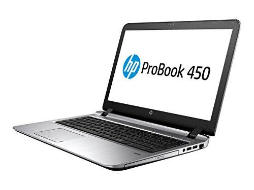 Hewlett-Packard 2WM48UT#ABA Probook 450 G3 - Ordenador portátil (procesador Intel Core i5 de 2,3 GHz, memoria RAM de 8 GB, disco duro híbrido de 500 GB), color negro