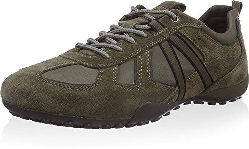 Geox Herren U Snake Y Sneaker, Taupe/grau, 42 EU