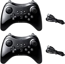 Sponsored Ad - Poulep Wireless Controller Compatible with Wii U Pro Console Dual Analog (Black and Black) photo