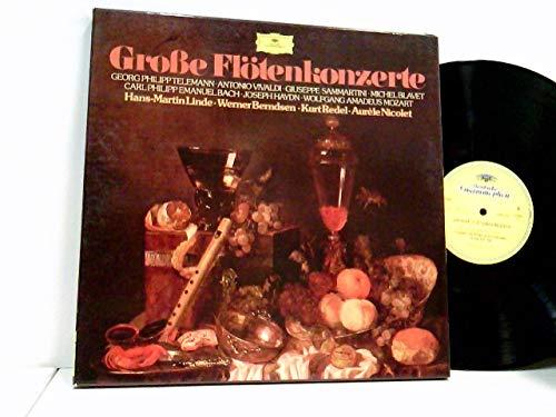 Georg Philipp Telemann, Antonio Vivaldi .... Aurèle Nicolet – Große Flötenkonzerte