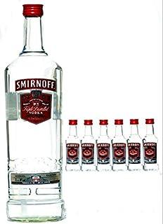 Smirnoff Vodka 3,0 L  Pumpe  6 x Smirnoff 0,05 L
