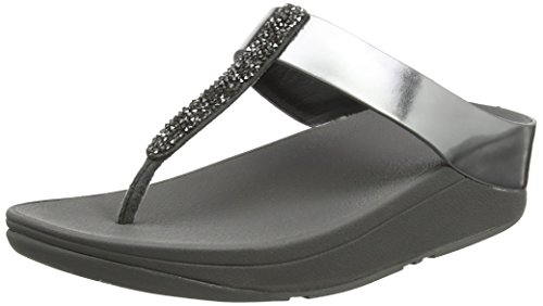 FitFlop Fino Toe-Post, Sandalias para Mujer