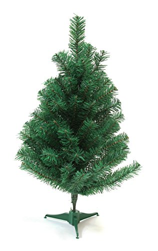 2' Ft Mini Charlie Pine Premium Holiday Christmas Tree - Unlit by Unique Imports